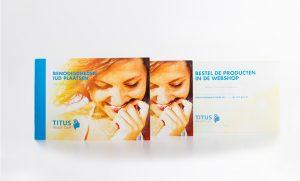 Afbeelding brochure benodigdheden IUD plaatsen