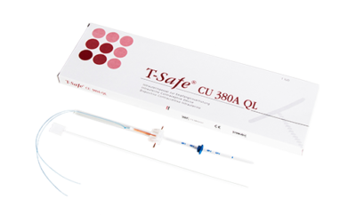 T-Safe copper Intra Uterine Device