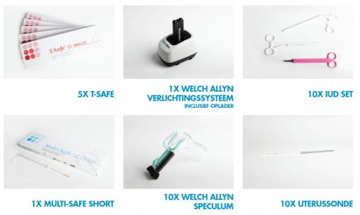 Disposable IUD pakket